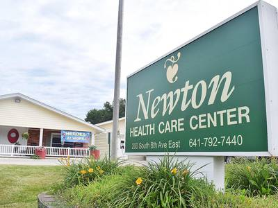 Newton nursing home managing another COVID-19 outbreak