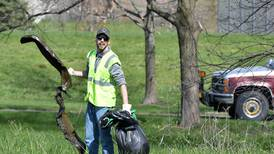 Photos: REG Newton staff volunteer to clean up city parks for Earth Day