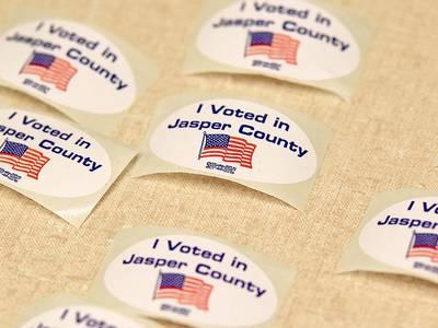 Early voting begins in Jasper County
