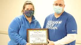 Newton DMACC honors employee for work in the community