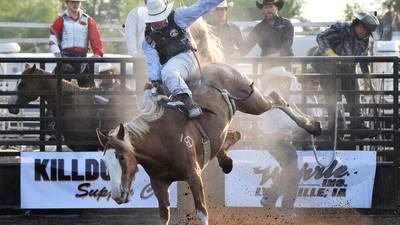Photos: Jasper County Fair Rodeo and Ty Carlson Memorial Bull Ride 2021