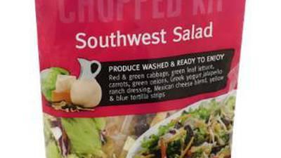 Salad supplier recall expanded after potential Cyclospora contamination
