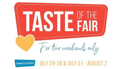 Taste of the Fair Food Events to be at state fairgrounds
