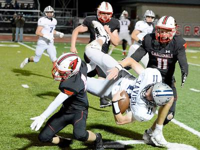 Third quarter dooms Newton football in loss to second-ranked Xavier